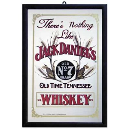 Jack Daniels - Bar Mirror / Decor Mirror (There's Nothing Like Jack Daniel's Whiskey)