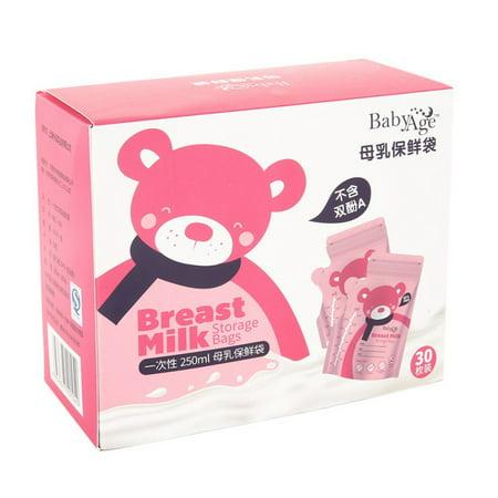 Baby Breast Milk Storage And Preservation Bags Frozen Milk Storage