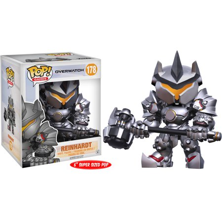 FUNKO POP! GAMES: OVERWATCH - REINHARDT 6 FUNKO POP! GAMES: OVERWATCH - REINHARDT 6