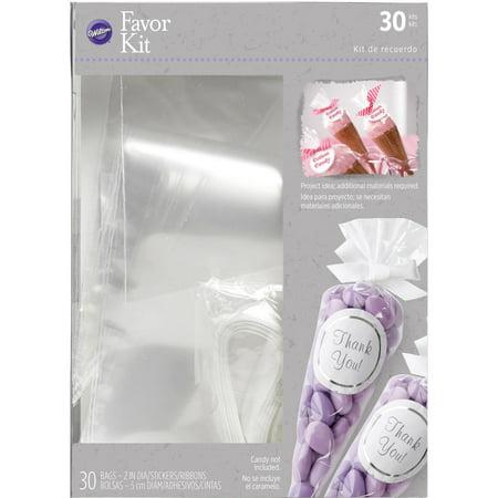Wilton Wedding Favor Bag Kit, 30 Count - Walmart.com