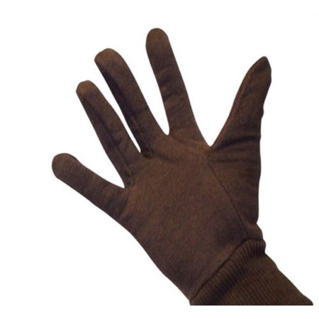 Poly/Cotton Blend Brown Jersey Glove 12 Pair Value Pack