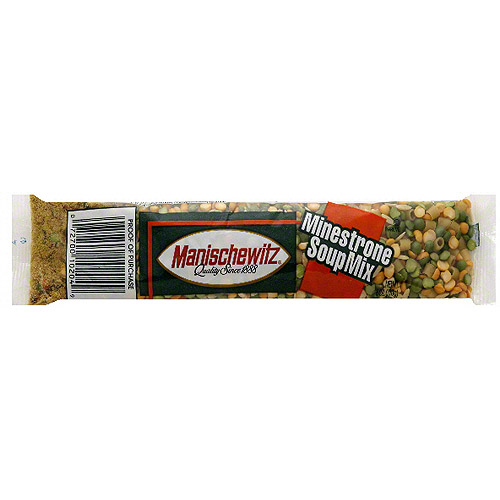 Manischewitz Minestrone Soup Mix, 6 oz (Pack of 24)