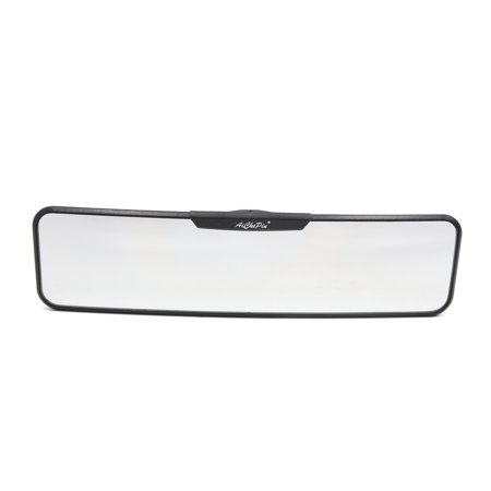 280mm White Glass Curved Panoramic Wide Angle Rear View Mirror for Car Interior