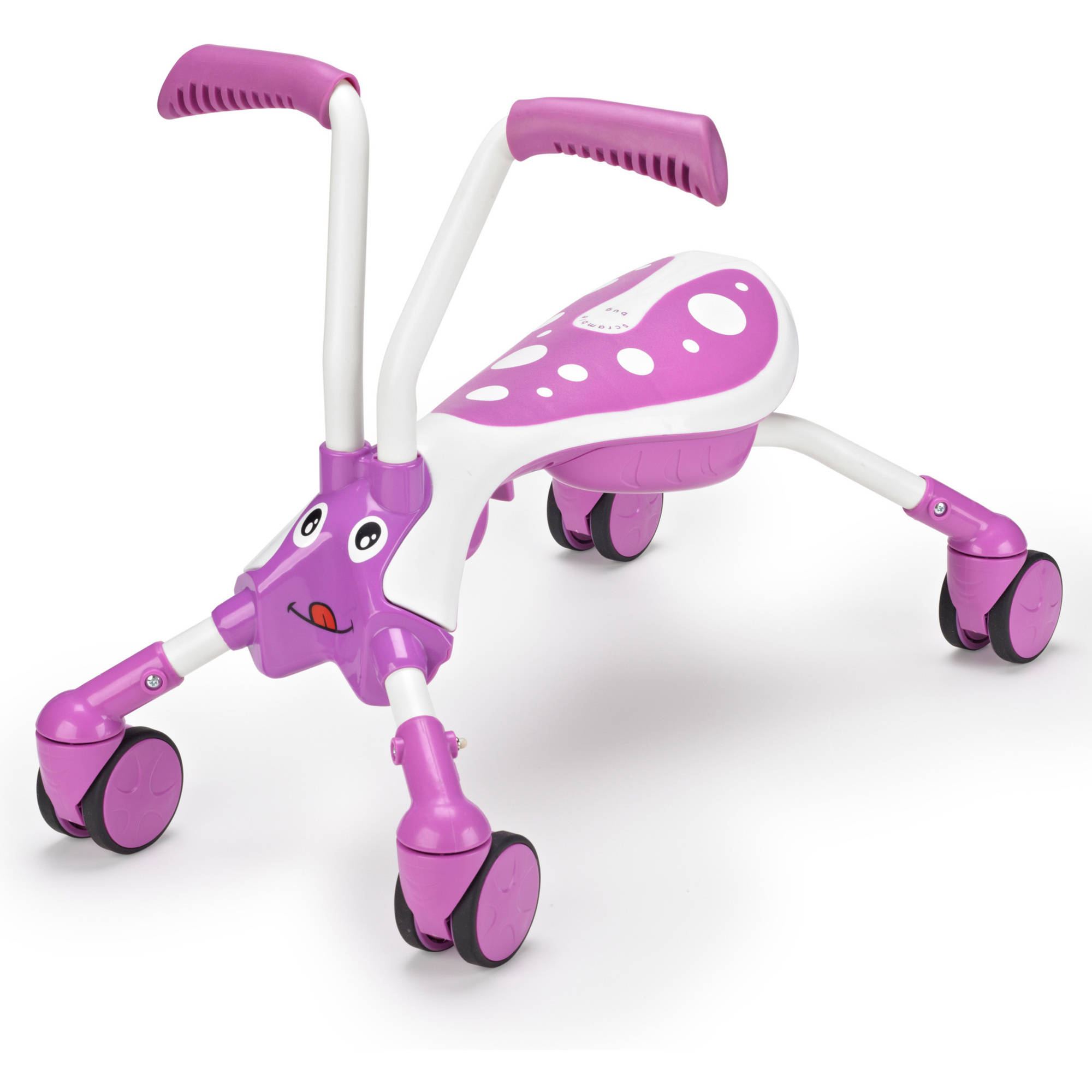 Mookie ScrambleBug Bubblegum 4-Wheel Foldable Ride-On