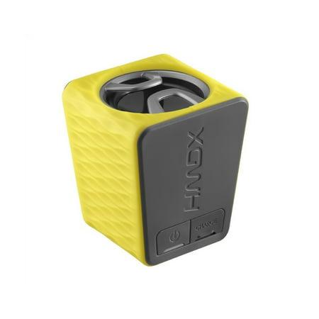 HMDX Burst Portable Rechargeable Speaker, HX-P130YL - Yellow