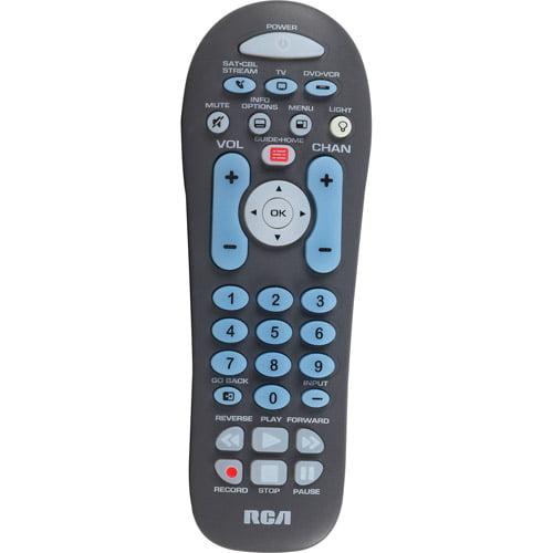 RCA RCR314WR 3-Device Universal Remote