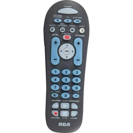 Rca Rcr314wr 3 Device Universal Remote Walmart Com