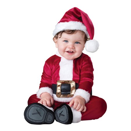 Baby Santa Infant/Toddler Costume (Toddler Santa Costume)