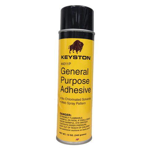 Keyston 12oz Can General Purpose Aerosol Spray Adhesive