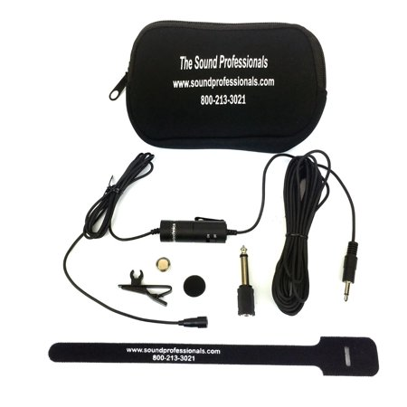 Old Fashioned Microphone Prop (ATR35S - Sound Professionals/Audio Technica - (Old model discontinued) Now the ATR3350 - Omnidirectional Condenser Lavalier Microphone with 3.5mm)