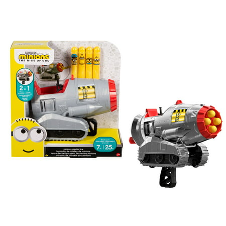 Minions Minion Missile Two-in-One Combat Tank and Missile Blaster