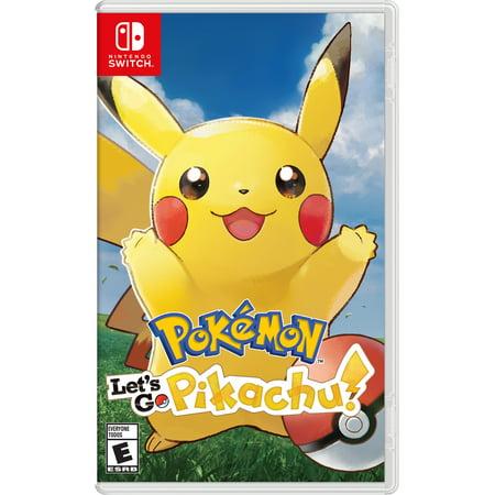 Pokemon: Let's Go Pikachu!, Nintendo, Nintendo Switch, (Top 10 Best Nintendo Characters)