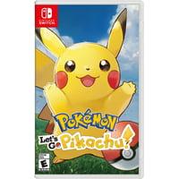 9cabcf448 Product Image Pokemon: Let's Go Pikachu!, Nintendo, Nintendo Switch,  045496593940