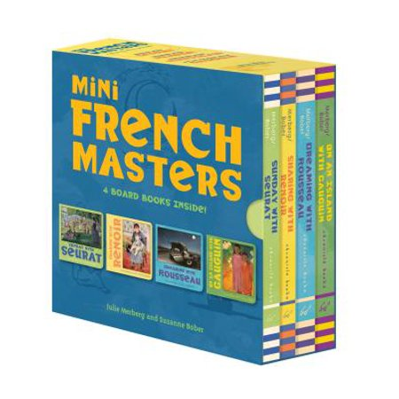 Mini French Masters Boxed Set : 4 Board Books Inside!