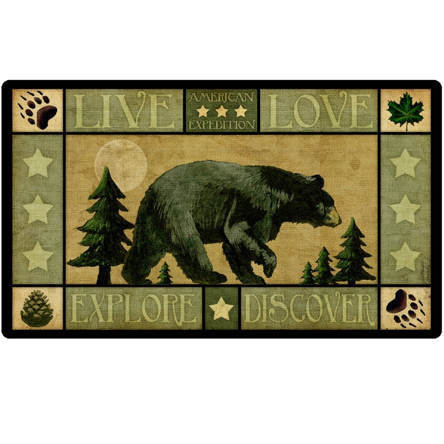 American Expedition Cutting Board - Lodge Series Bear