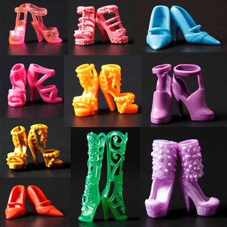 ThinkMax 10 Pairs of Doll Shoes, Fit Dolls (Exactly As in Photo) - image 5 of 6