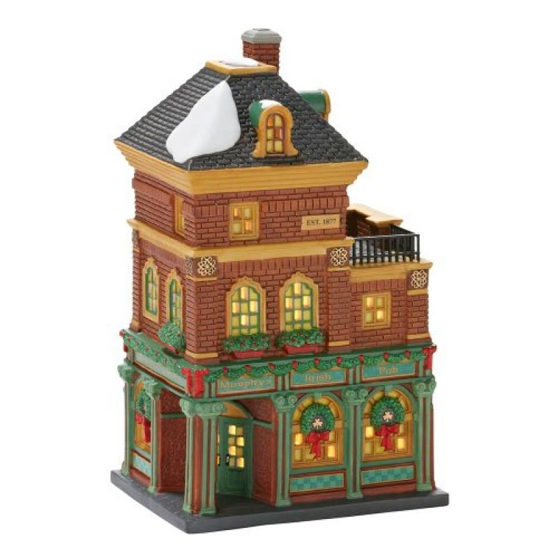 Department 56 Christmas in the City Village Murphy's Iris...