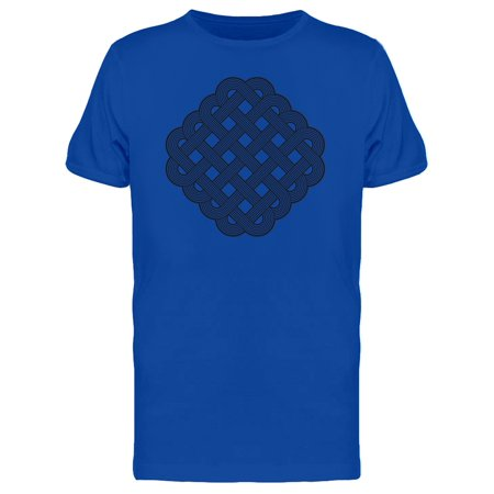 Intertwined Celtic Knot Tee Men's -Image by Shutterstock White Gold Mens Trinity Knots