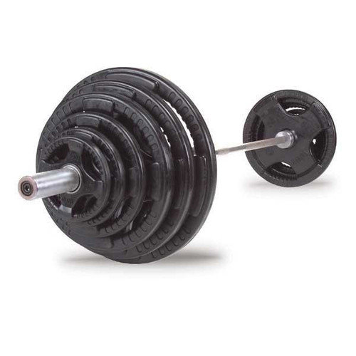 Body Solid 300 lbs Rubber Grip Olympic Set