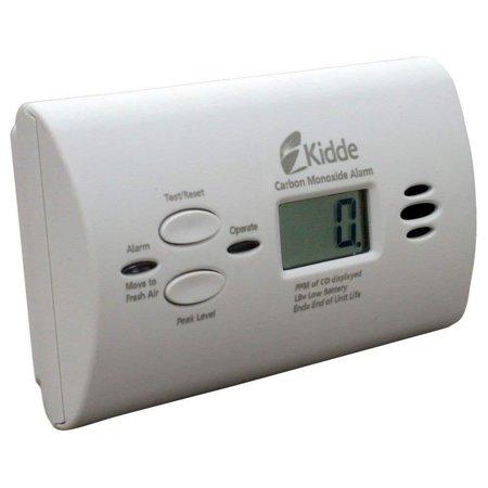 Battery Operated Carbon Monoxide Alarm with Digital Display KN-COPP-B-LPM, Digital Display - Displays the level of carbon monoxide the unit is sensing.., By Kidde