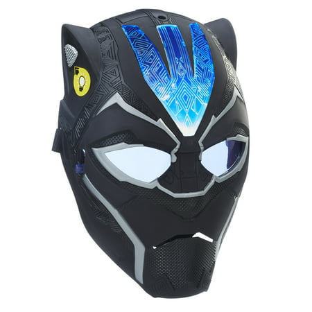 Marvel Black Panther Vibranium Power FX Mask for Ages 5 and up (Black Panther Suit)