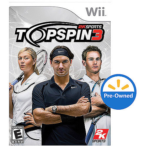 Top Spin 3 (Wii) - Pre-Owned