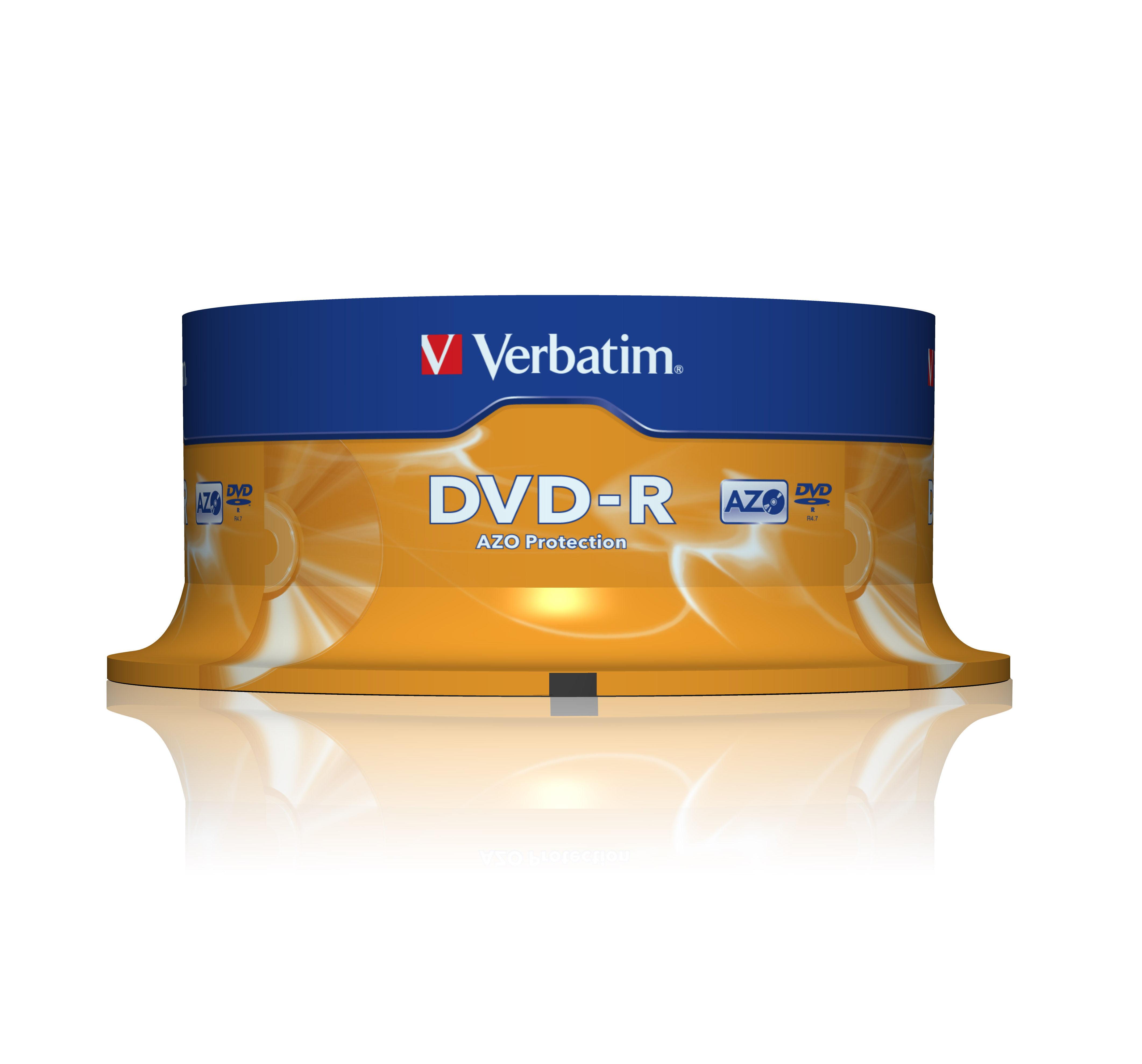 Verbatim DVD-R 16x 25-Pack Spindle