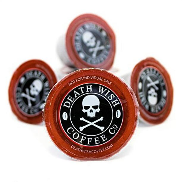 Death Cups By Death Wish Coffee The World S Strongest Single Serve Coffee Capsule 10 Capsules Walmart Com Walmart Com