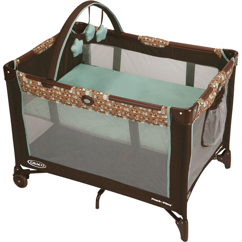 Graco Pack 'N Play Travel Playard Playpen, Little Hoot