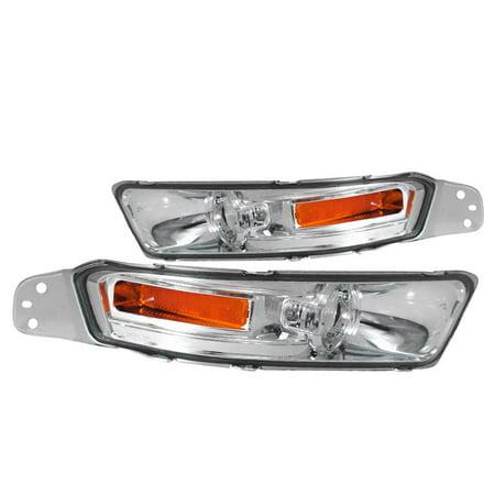 Spec-D Tuning 2002-2009 Ford Mustang Park Bumper Signal Lights 2005 2006 2007 2008 2009 (Left + Right)