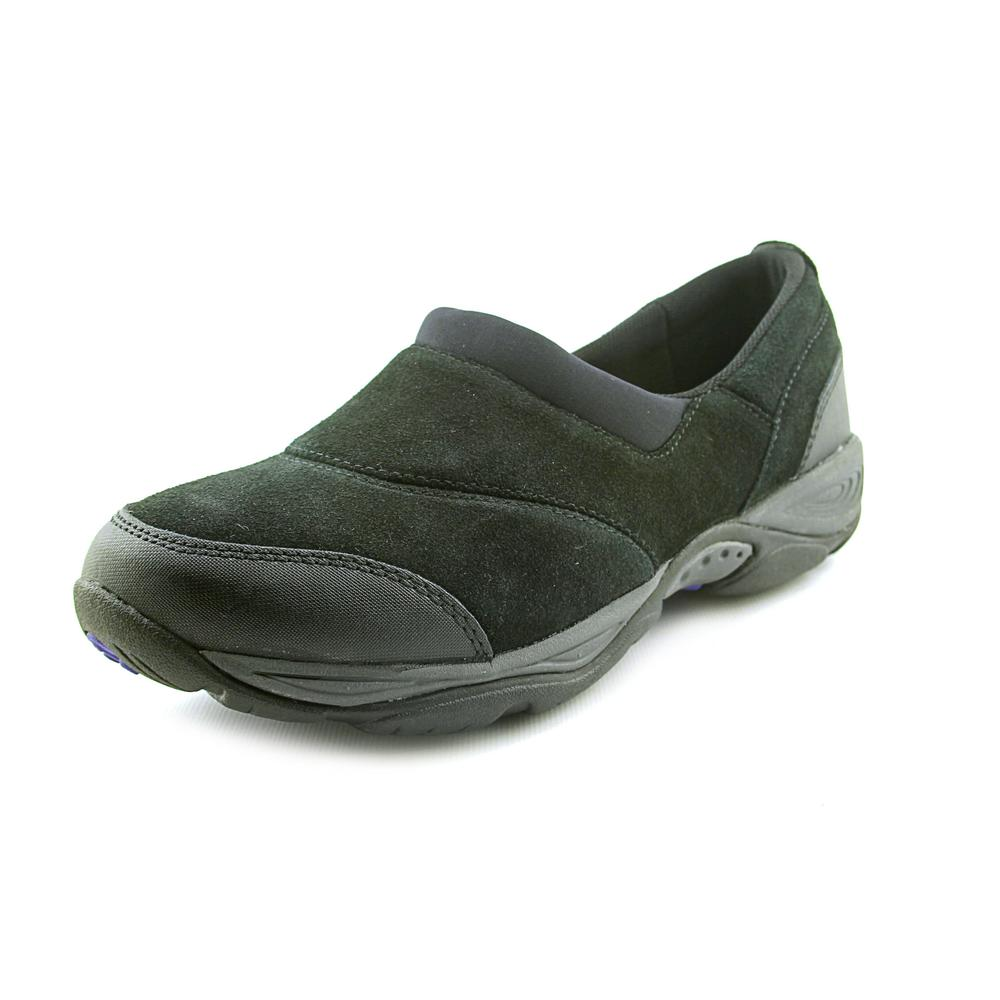 Innovative Easy Spirit Black Multi Suede Everything Womens Shoes  Moy100