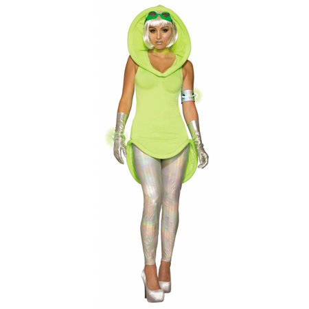 Mars Mistress Womens Adult Outer Space Princess Halloween Costume-Std for $<!---->