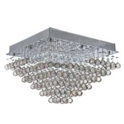 Worldwide Lighting Icicle 8-Light Flush Mount