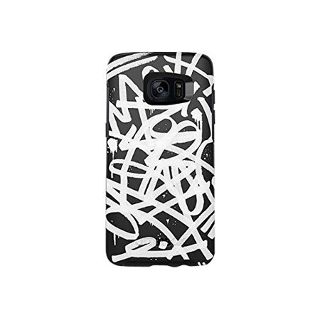 finest selection 16e01 dd8bd OtterBox Symmetry Series Case for Samsung Galaxy S7 Edge, Graffiti  (Black/Black/Graphic)