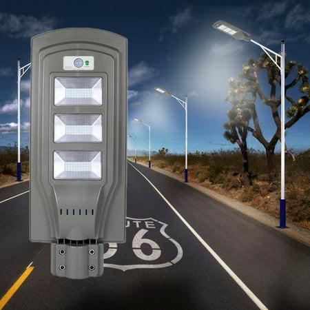 UBesGoo 60W LED Solar Powered Light Dusk to Dawn PIR Motion Sensor Lamp Outdoor
