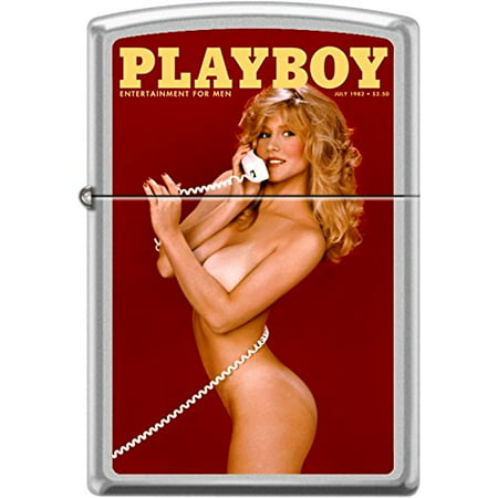 Zippo Playboy July 1982 Cover Windproof Lighter