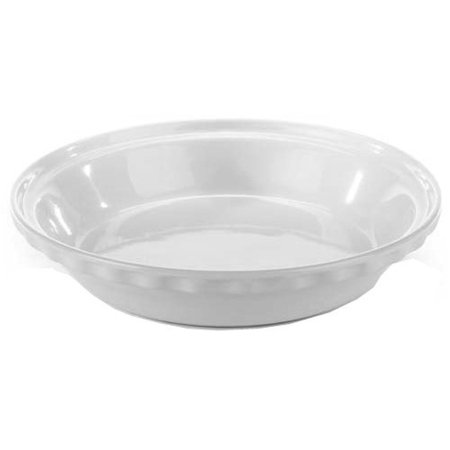 Chantal 9.5-inch Deep Pie Dish, White (Chantal Pie Dish)