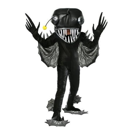 Make Fish Costume (Angler Fish Kids Costume)