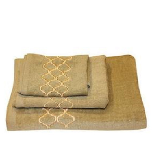 Dainty Home Modern Trealls 3 Piece 100pct Cotton Towel Set