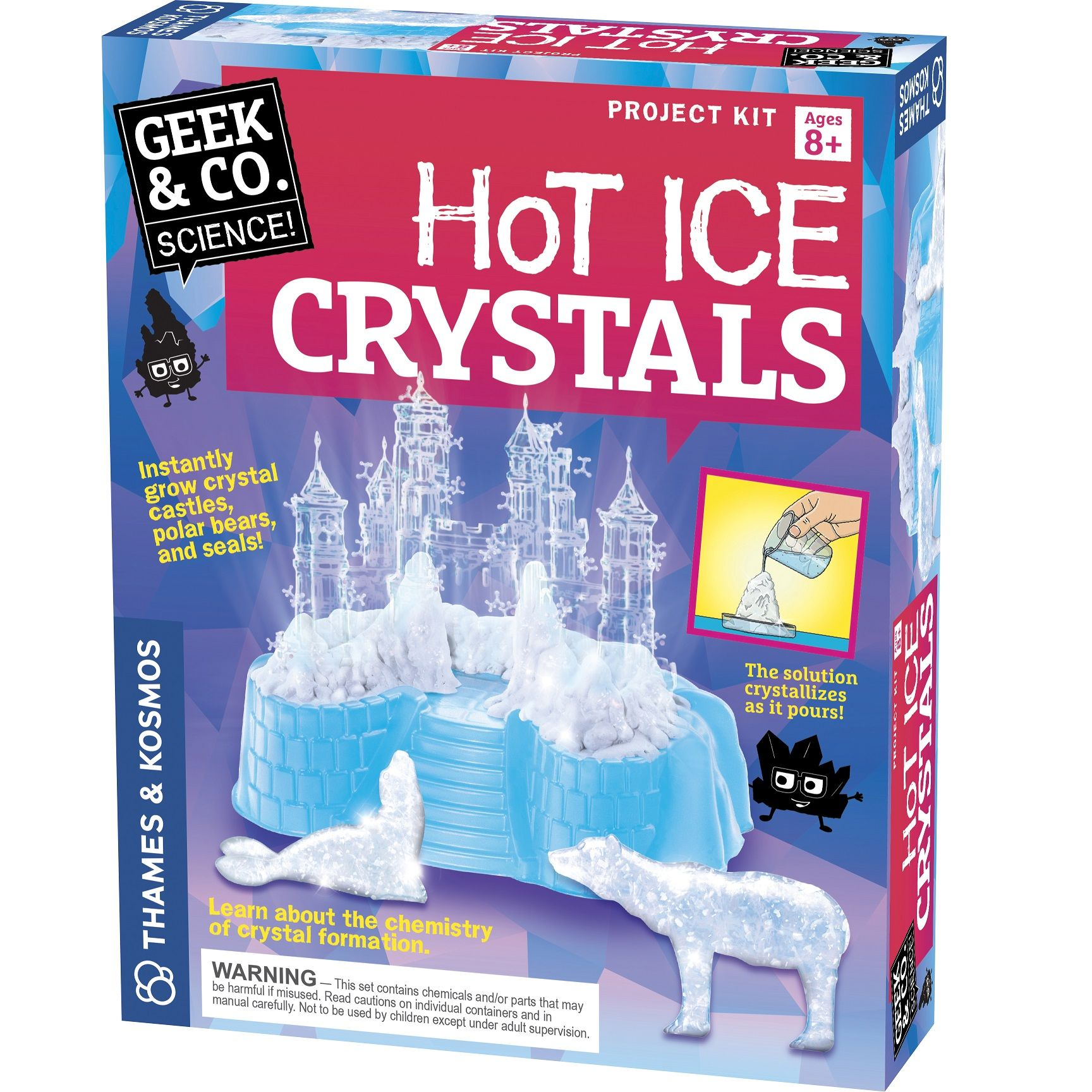 Hot Ice Crystals - Science Kit by Thames & Kosmos (550021)