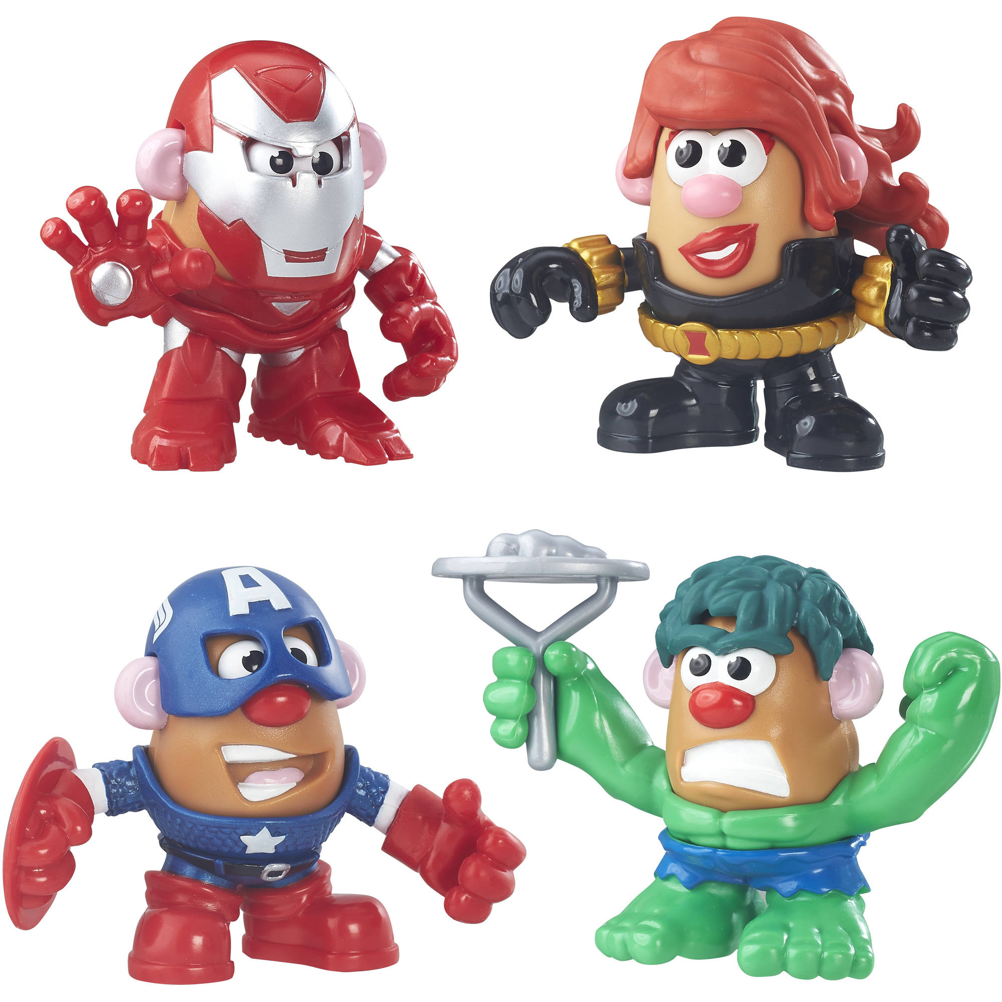 Playskool Friends Mr. Potato Head Marvel Super Rally Pack by Hasbro