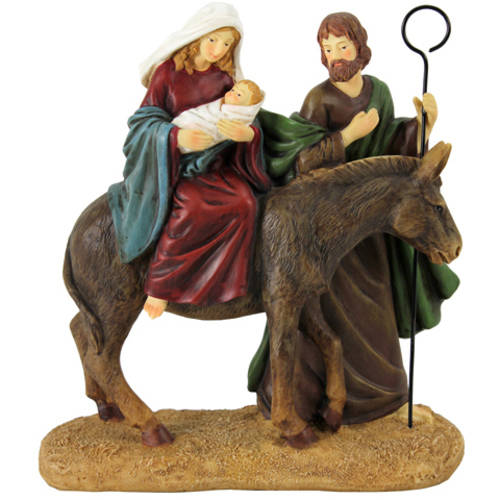 Holiday Time Holy Family Statuette