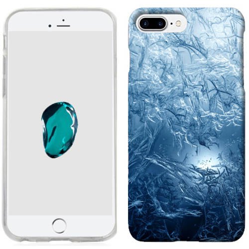 Mundaze Blue Ice Phone Case Cover for Apple iPhone 7 Plus