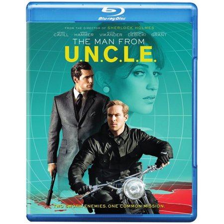 The Man From U.N.C.L.E. (Blu-ray) (Penguins Of Madagascar A Visit From Uncle Nigel)
