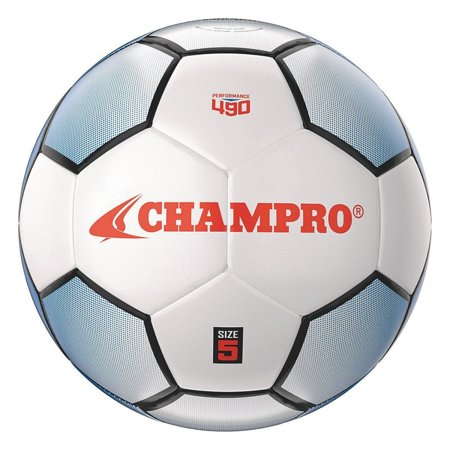 Renegade Soccer Ball-SIZE 3, Machine stitched, soft shiny PVC synthetic leather ball By Champro Leather Soccer Ball