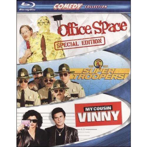 Comedy Collection (Office Space   Super Troopers   My Cousin Vinny) [Blu-ray] by