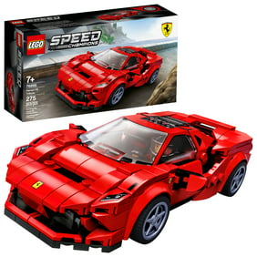 LEGO Speed Champions 76895 Ferrari F8 Tributo Racing Model Car, Vehicle Building Car (275 pieces)