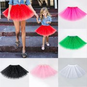 Mother Daughter Matching Women Girl Ballet Tutu Mini Gauze Party Princess Skirt