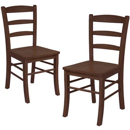 Winsome Ladder Back Chairs   Set Of 2