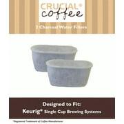 2 Keurig Charcoal Water Filters, Fit Keurig Single Cup Brewing Systems
